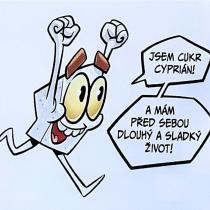 Cukřík Cyprián_kreslí Marcel Dokoupil