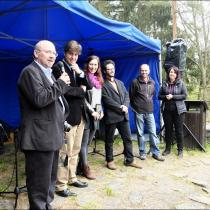 Křest na Kozím hrádku se uskutečnil 1. května 2015. Fotil Martin Kibi Fořt