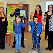Přivítání knihy se odehrálo v pátek 13. 3. 2015 ve smíchovské knihovně
