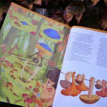 Povídka Kláry Smolíkové vychází v říjnové Mateřídoušce s ilustracemi Ester Kuchynkové.