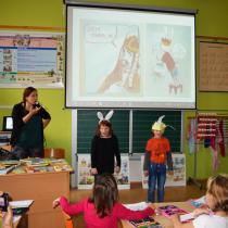 Ze čtenářského workshopu ve škole