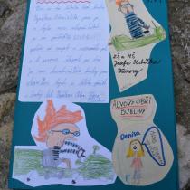 Krásná kniha o Alvovi, kterou vytvořili kluci a holky ze 4.A ze ZŠ Všenory