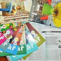 Poslední díl Klářiny workshopové kuchařky v knihovnickém časopise Čtenář se jmenuje Filmové hody
