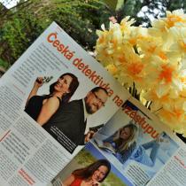 V sobotním Magazínu Práva vyšel 9. dubna článek Česká detektivka na vzestupu.