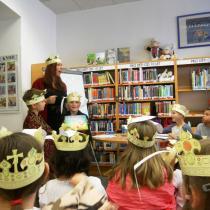 Klára Smolíková a křest knihy Králík málem králem
