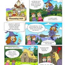 Na hradě Bradě - příběh Kouzelný kůň - 1. strana