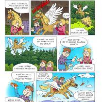 Na hradě Bradě - příběh Kouzelný kůň - 2. strana