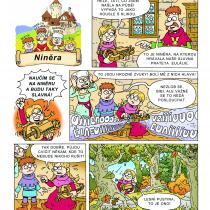 Na hradě Bradě - příběh Niněra - 1. strana