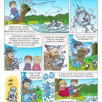 Na hradě Bradě - příběh Podivný budík - 2. strana