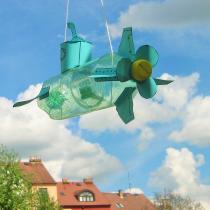 Hračky a masky z papíru - ponorka