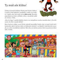 Čertice Dorka. Napsala Klára Smolíková, ilustroval Honza Smolík.