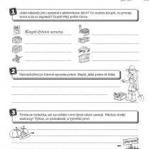 Spořínkova učebnice - pracovní list č. 1