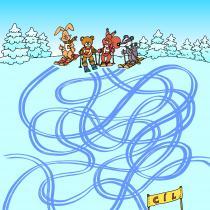 Hádanka z knihy Medvídek Lup a jeho kamarádi