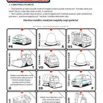 Portál Škoda hrou a pracovní list - vozidla s modrými majáčky