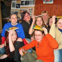 Ovladač je můj aneb Jak na média_křest v Táboře se studenty knihkupectví 1. 3. 2006