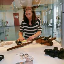 Výstava ve smíchovské knihovně ke knize Řemesla