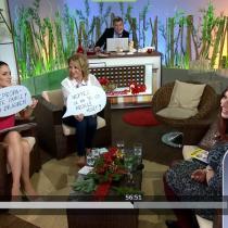 Klára Smolíková hostem pořadu Sama doma