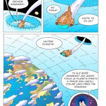 Ukázka z knihy Viktorka a vesmírná dobrodružství