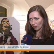 Klára Smolíková ve Zprávičkách
